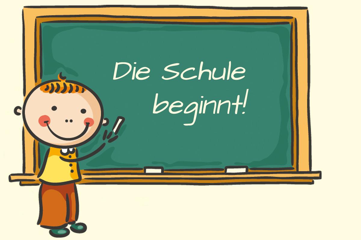 Schulbeginn u2013 Grundschule Hu00fcthum