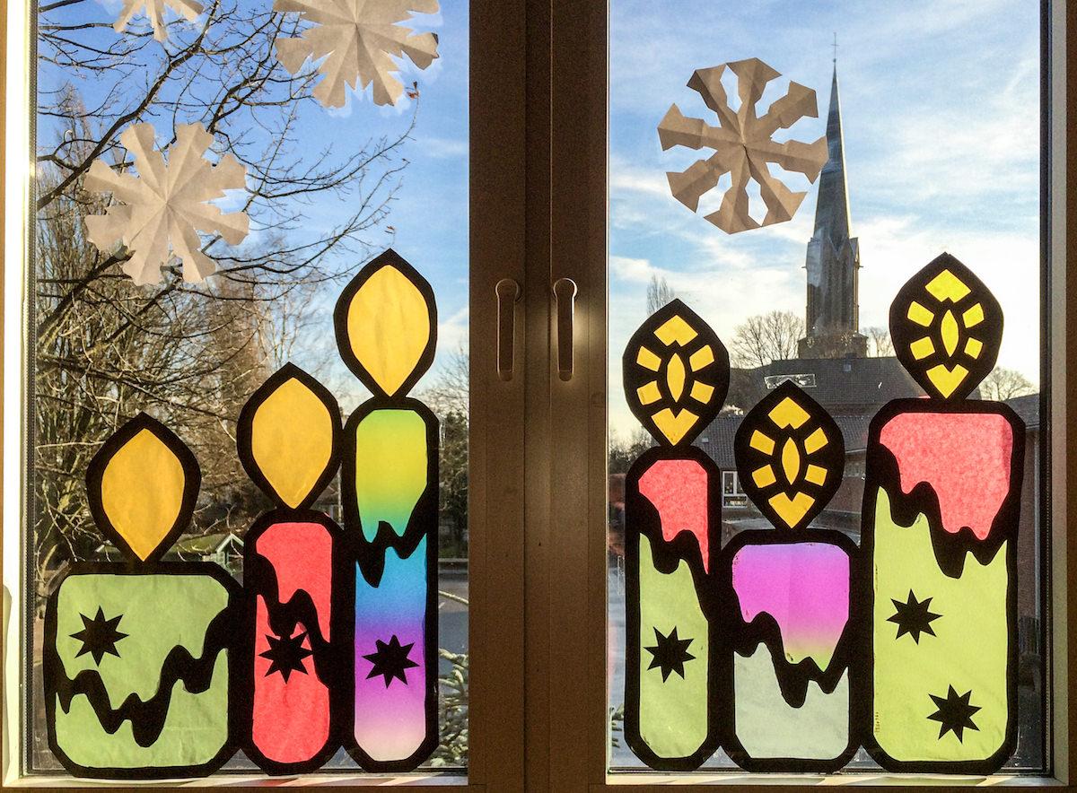 Weihnachtliche Stimmung – Grundschule Hüthum